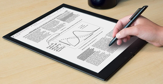 Fujitsu Digital Paper eReader Getting Set to Launch