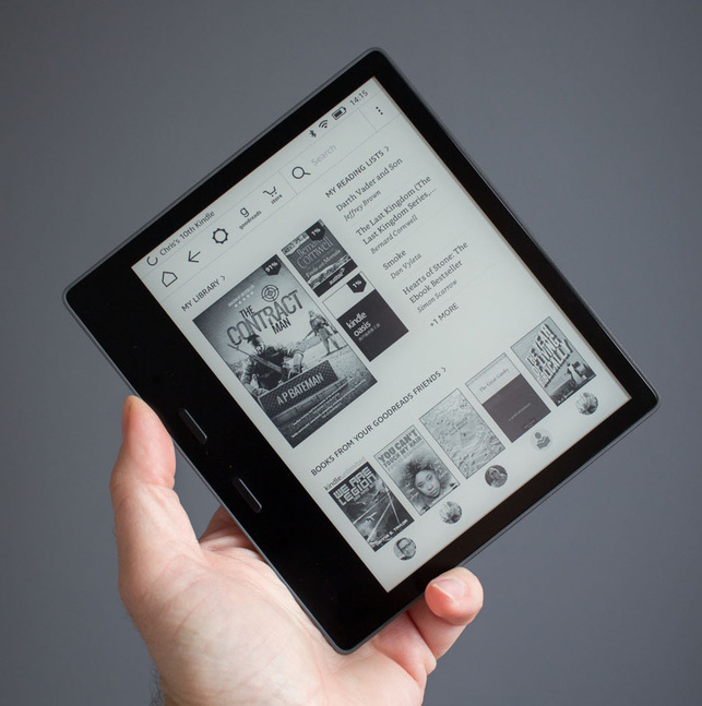Exploring Accessibility Features on New Kindle Oasis