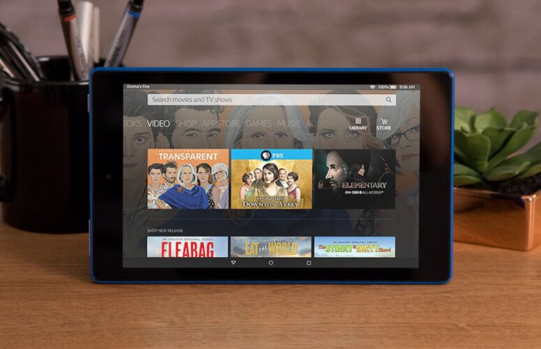 Amazon Fire HD 8 with Echo-like dock added Feature!